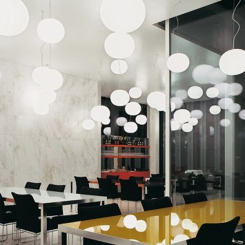Flos Mini Glo-ball S - Pendant Lamp