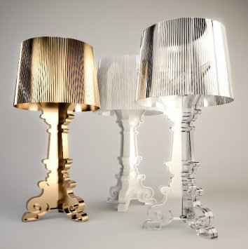 kartell bourgie 9074 table lamp. Black Bedroom Furniture Sets. Home Design Ideas