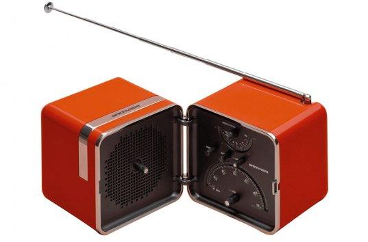 Brionvega Radio Cubo Ts522 Portable Radio
