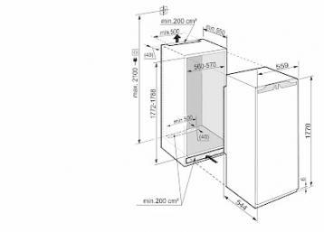 liebherr ikbp 3554 premium biofresh refrigeradores empotrados. Black Bedroom Furniture Sets. Home Design Ideas