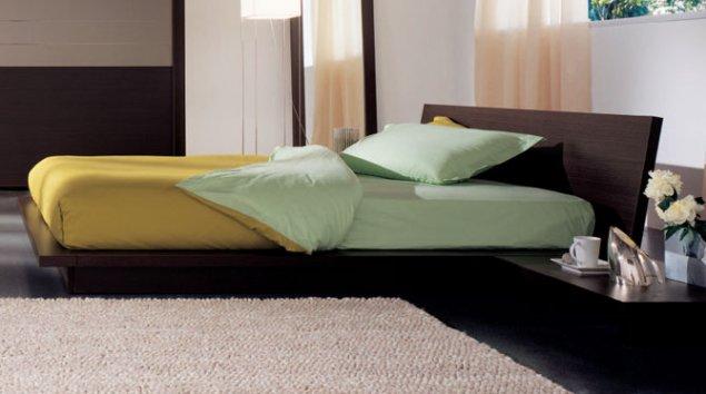 Cama Tahiti con armazón de la cama Zen - Camas dobles