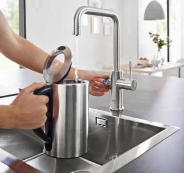 grohe blue home 31456dc0 robinets de cuisine. Black Bedroom Furniture Sets. Home Design Ideas