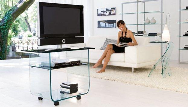 tonin casa meuble tv 7069 t7069 supports pour t l viseur. Black Bedroom Furniture Sets. Home Design Ideas