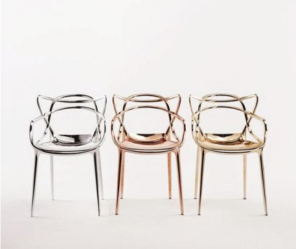 Kartell masters 5864 chaises for Masters kartell