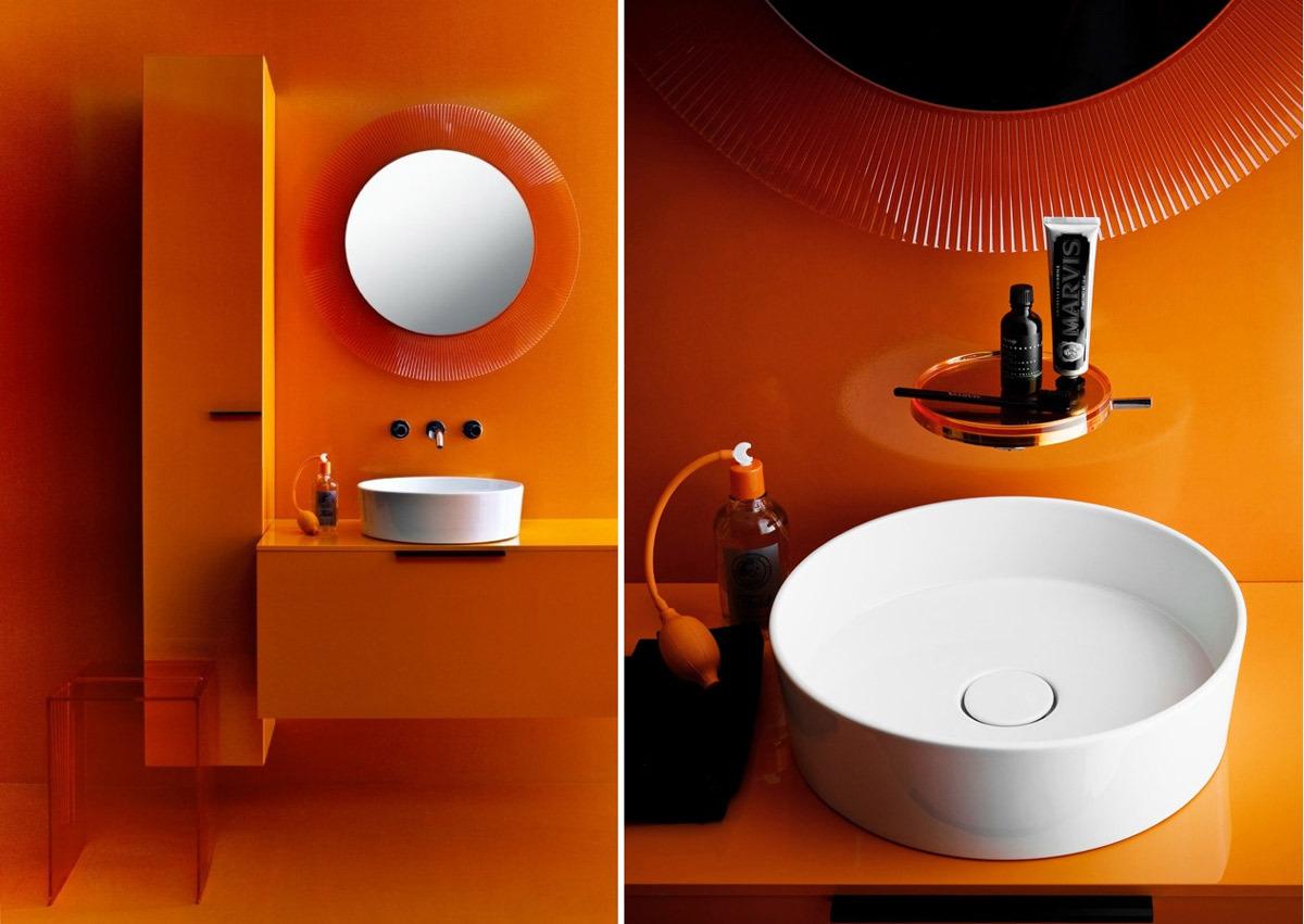 Meuble Salle De Bain Kartell ~ kartell by laufen lavabo poser 8 1233 1 vasques poser