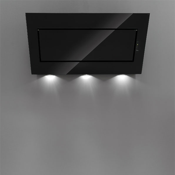 falmec design quasar parete 60 cm hottes murales. Black Bedroom Furniture Sets. Home Design Ideas