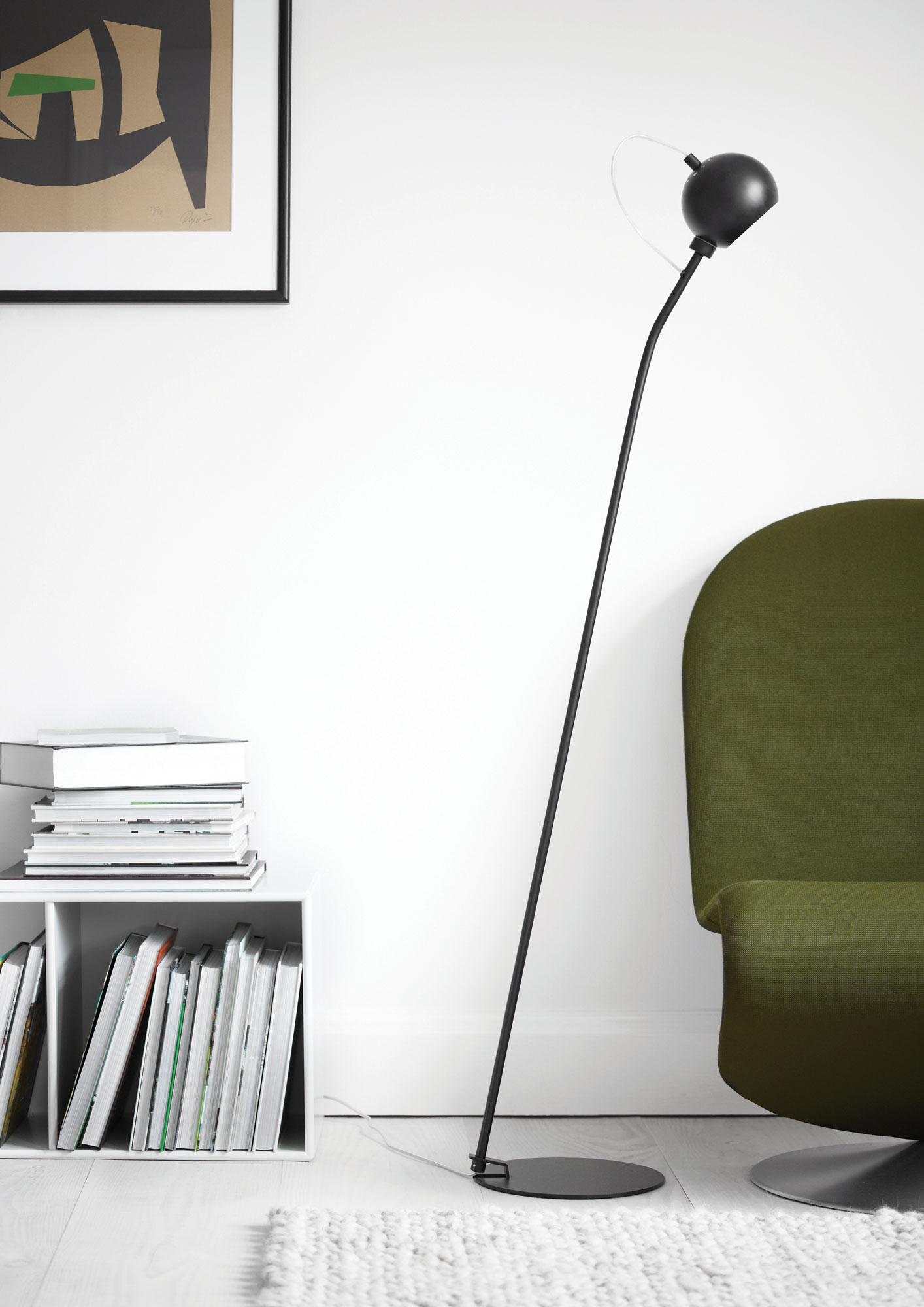 frandsen ball 3070 lampes au sol. Black Bedroom Furniture Sets. Home Design Ideas