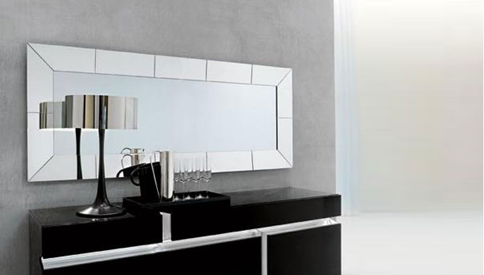 Cattelan italia regal 160x80 miroirs for Espejos para comedor modernos