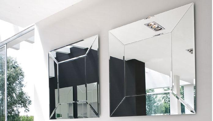 Tonin casa miroir costantia 7519 sq t7519 sq miroirs for Desire miroir miroir