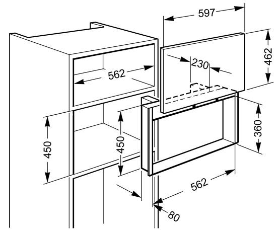 smeg porte pour four pmosc170x accessoires pour micro ondes. Black Bedroom Furniture Sets. Home Design Ideas