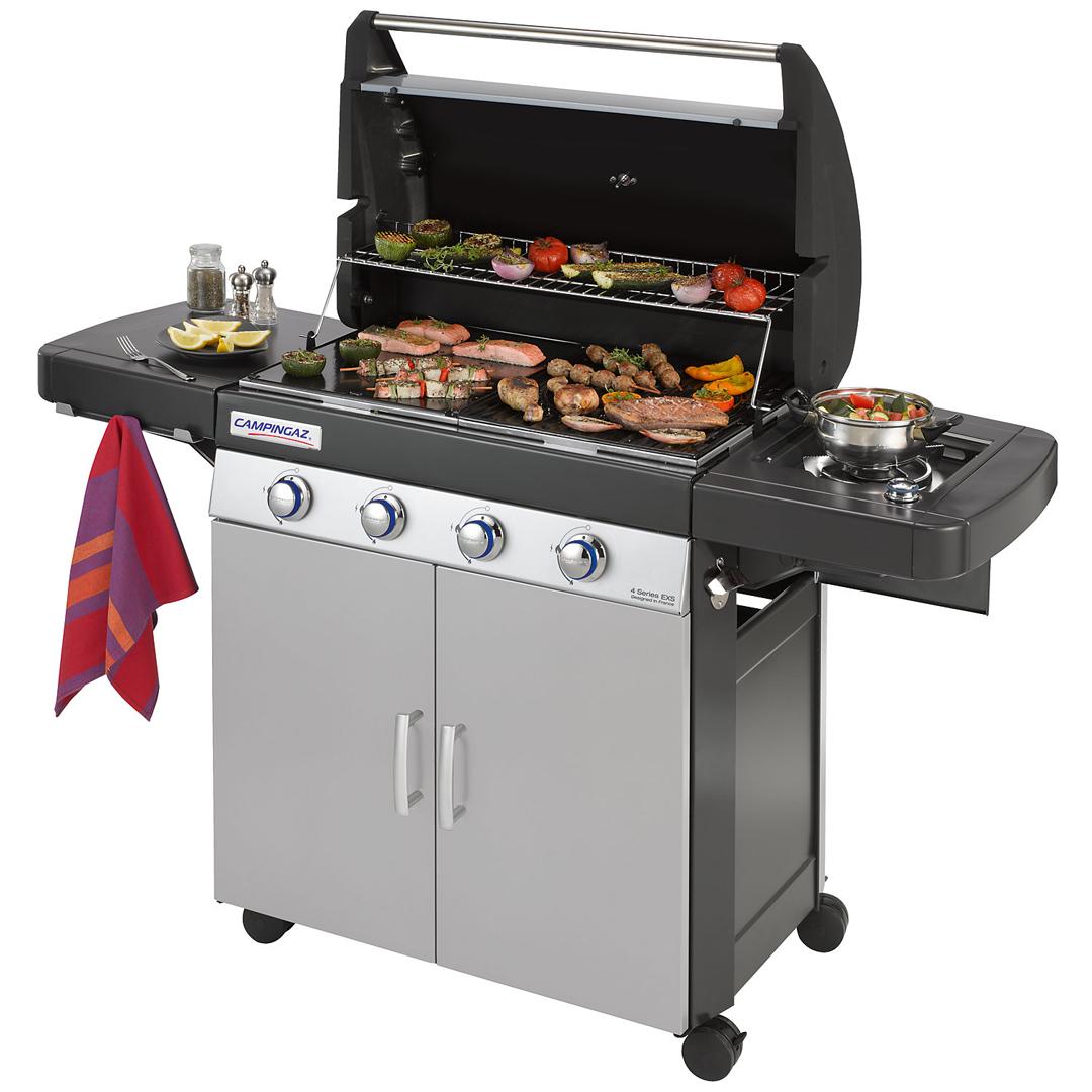 Campingaz 4 series classic exs barbecue gaz - Barbecue campingaz serie 4 ...
