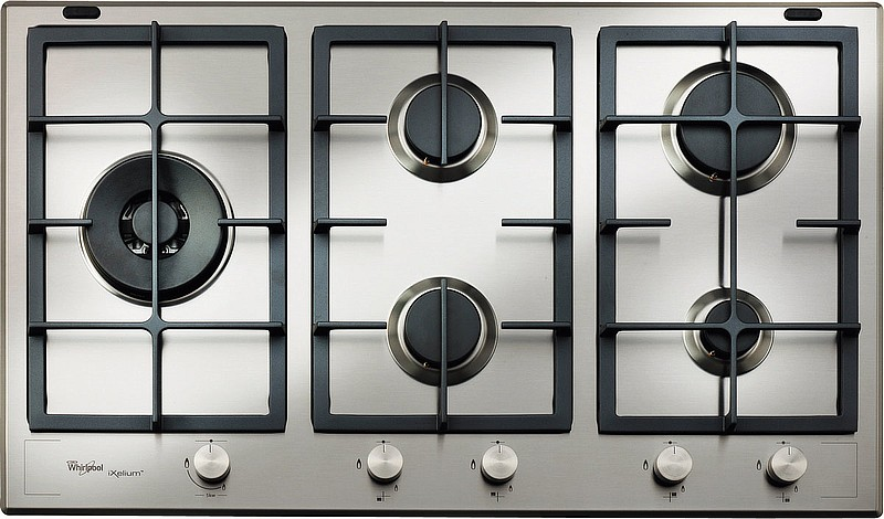 whirlpool gmf 9522 ixl tables de cuisson gaz. Black Bedroom Furniture Sets. Home Design Ideas