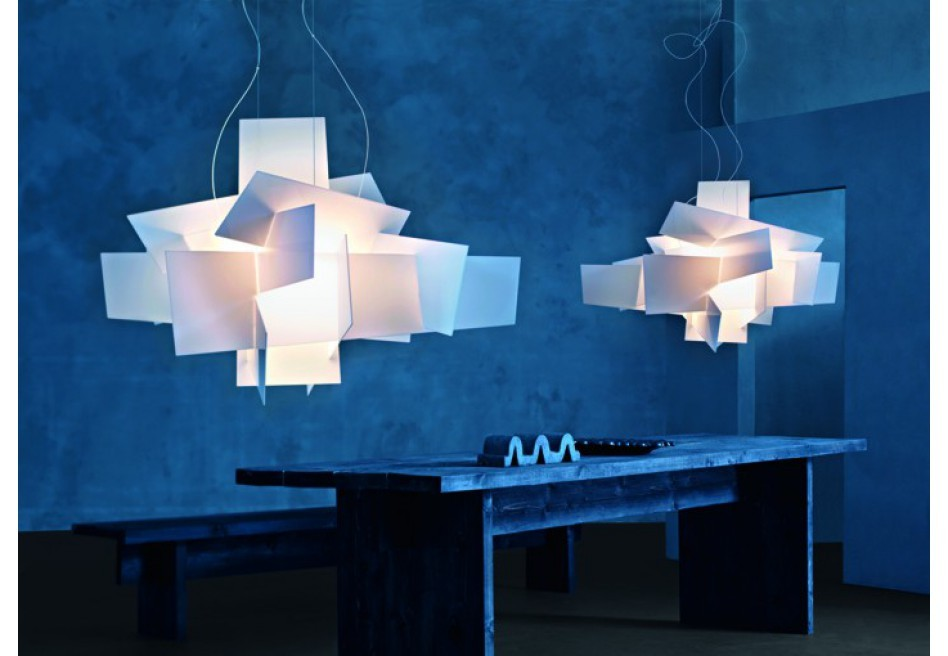 foscarini big bang suspension led lampes suspendues. Black Bedroom Furniture Sets. Home Design Ideas
