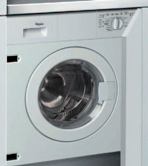 Whirlpool awo d 612 machines laver int grable - Machine a laver integrable ...
