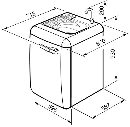 smeg lbl14ro machines laver pose libre. Black Bedroom Furniture Sets. Home Design Ideas