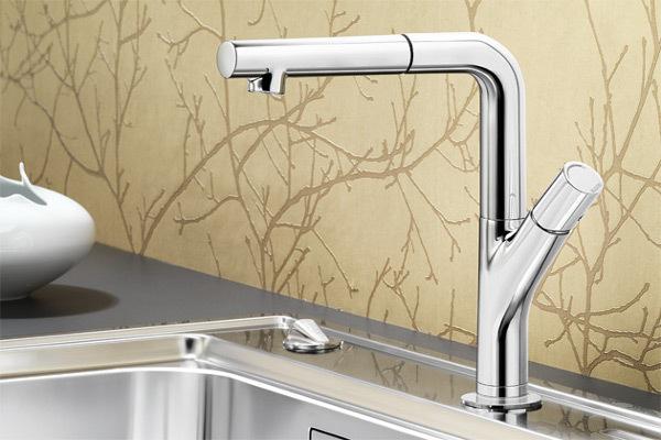 blanco yovis s robinets de cuisine. Black Bedroom Furniture Sets. Home Design Ideas