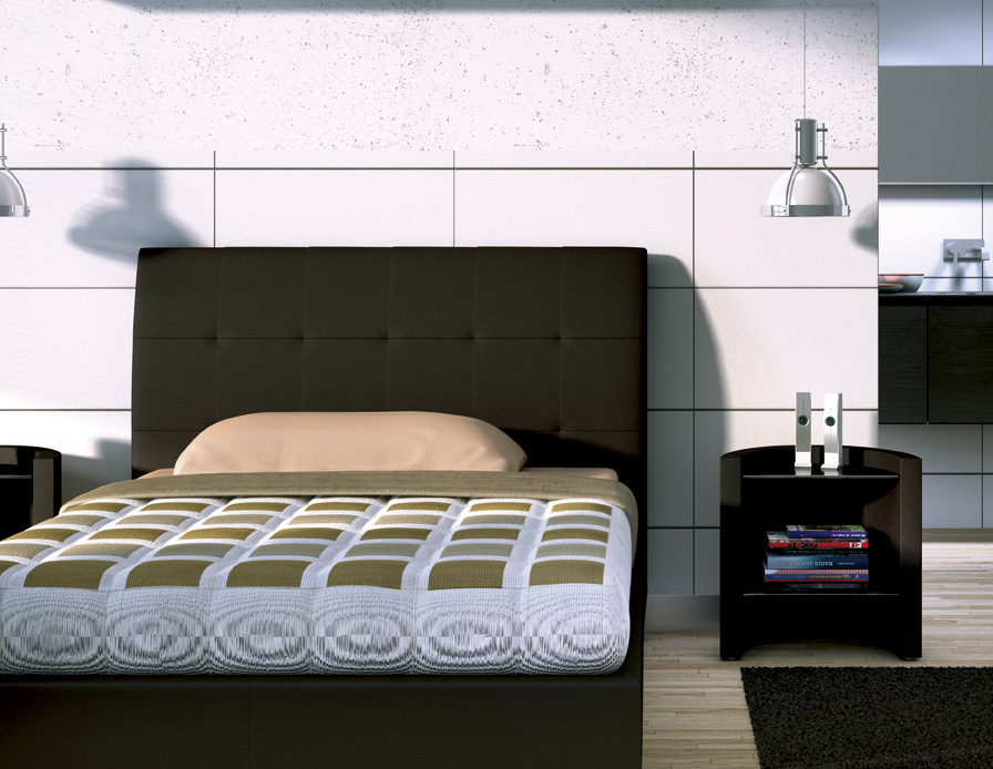 target point lit asolo semi double avec r cipient grand lits. Black Bedroom Furniture Sets. Home Design Ideas