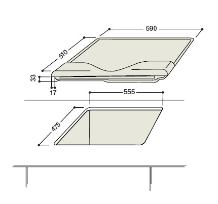 hotpointariston ph 640 mst ogha tables de cuisson 224 gaz