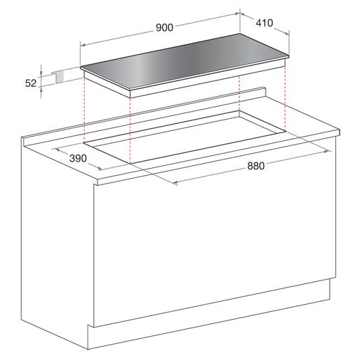 scholtes sh09dltabs plaques de cuisson lectriques. Black Bedroom Furniture Sets. Home Design Ideas