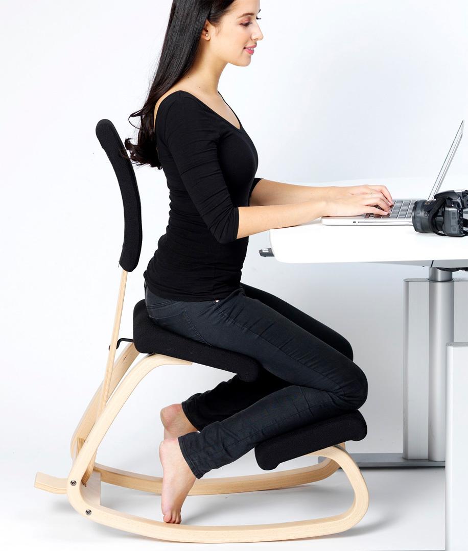 varier variable dossier avec coussin couleurs standard chaises ergonomiques. Black Bedroom Furniture Sets. Home Design Ideas
