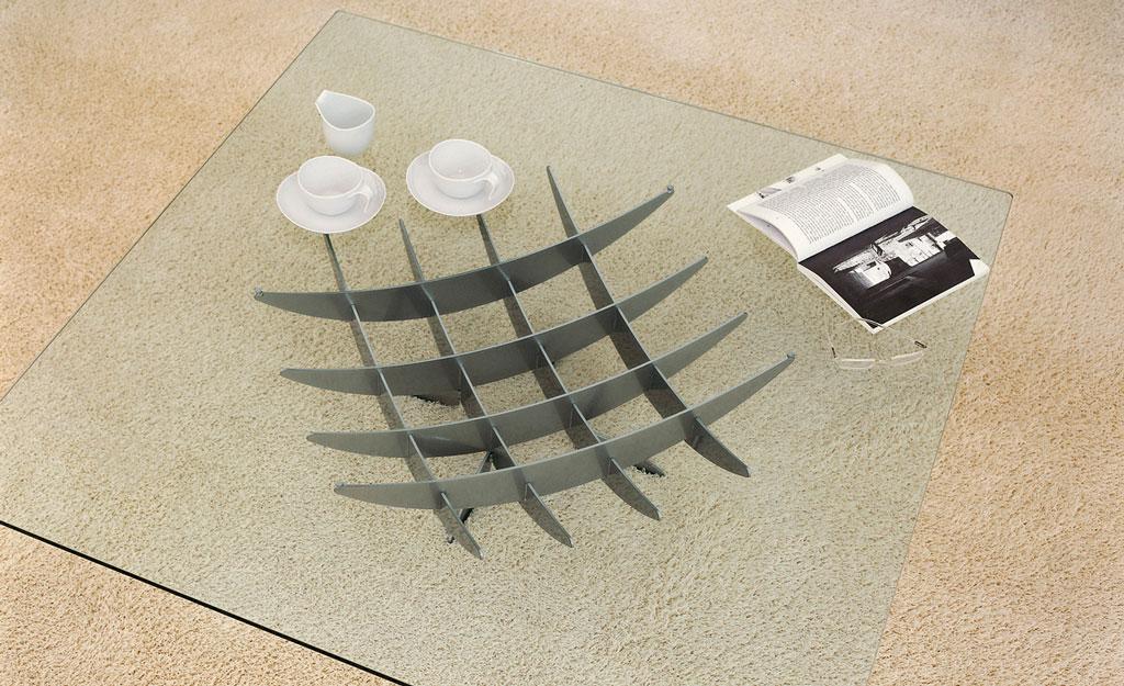 Cattelan italia table basse atlas 100x100 atlas 100x100 for Table basse 100x100