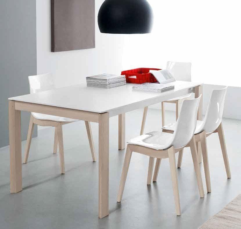 Connubia calligaris eminence cb 4724 w 160 b tables - Tavoli sala da pranzo calligaris ...