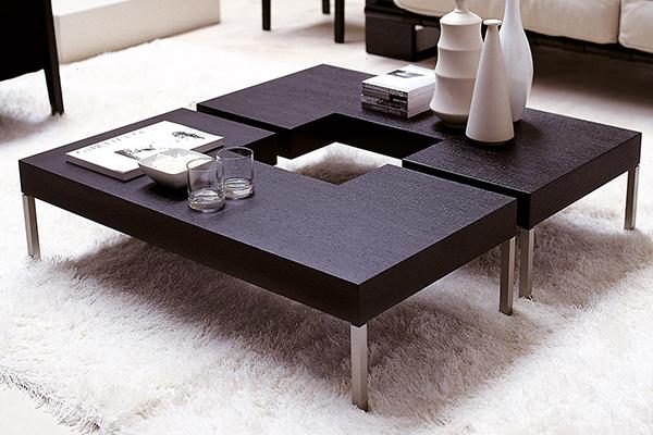 porada puzzle 1 tables basses. Black Bedroom Furniture Sets. Home Design Ideas