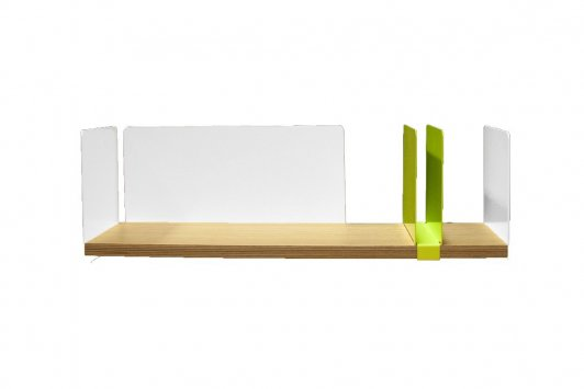 Mensole Per Ufficio : Driade portable atelier moleskine mensola 2 scrivanie