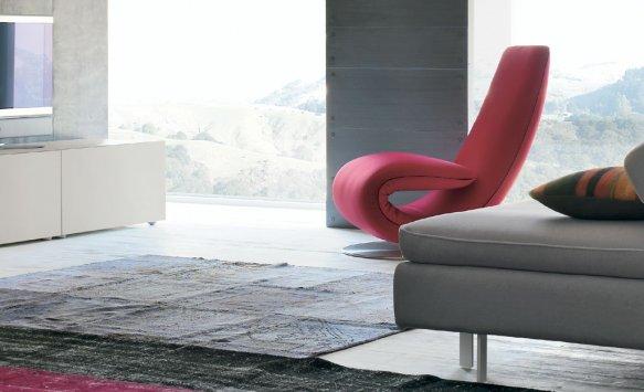 Tonin casa chaise longue ricciolo 7865 poltrone - Poltrone ricci casa ...