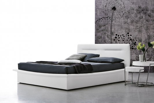 Target Point Letto Panarea matrimoniale con contenitore Easy Lift ...