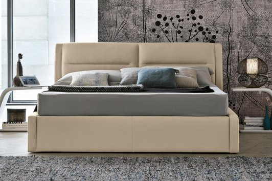 Target point letto Stromboli matrimoniale con contenitore Easy Lift ...