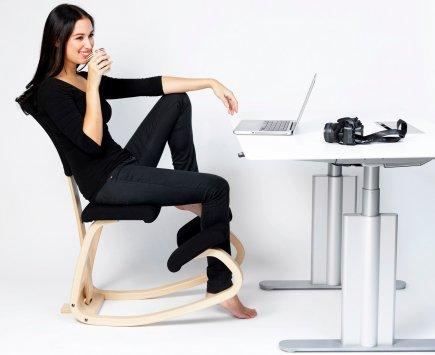 Varier variable balans e schienale con cuscino revive sedie