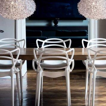 Kartell masters 5865 5866 sedie - Kartell sgabelli cucina ...