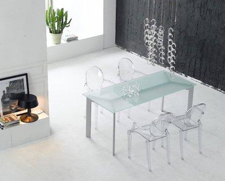 Kartell set di 4 sedie louis ghost set 4 sedie