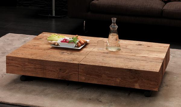 Ozzio design t111 box legno tavolini trasformabili for Tavolini in legno