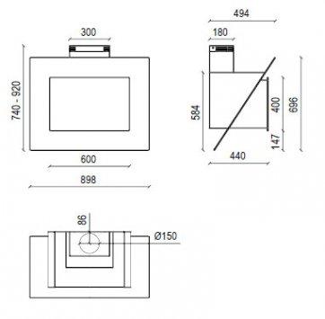 Cappe baraldi ricambi – Piccoli elettrodomestici da cucina 7660f9ebde92