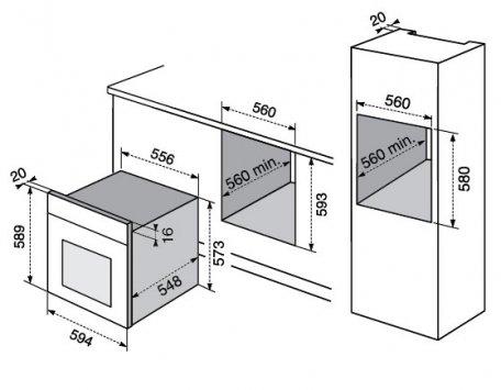 Misure forni elettrici piccoli elettrodomestici da cucina - Piccoli elettrodomestici da cucina ...