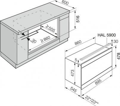 miele h 5981 bp kat premium forni. Black Bedroom Furniture Sets. Home Design Ideas