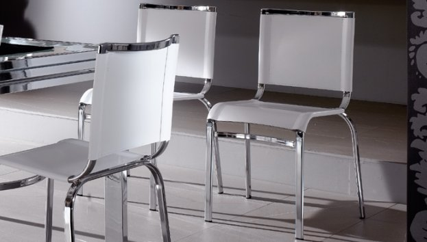 Eurosedia viva rigenerato di cuoio 197 sedie for Sedie cuoio rigenerato