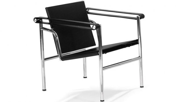 sedia basculante lc1 le corbusier poltroncina. Black Bedroom Furniture Sets. Home Design Ideas