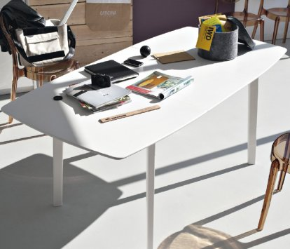Connubia calligaris cream table cb 4063 r tavoli for Tavolo cream calligaris