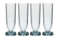 Kartell Jellies Family 1581- Set 4 pezzi