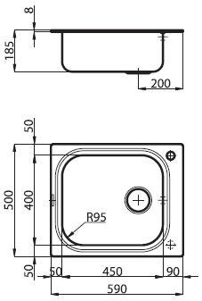 foster big bowl  Foster Serie Big Bowl - 1511 001/002 - Lavelli e Miscelatori