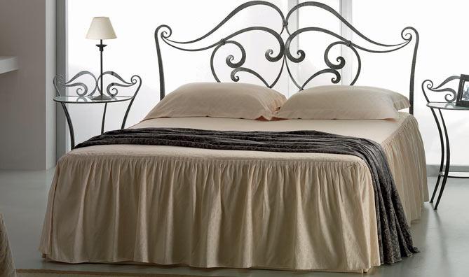 Target point letto lilium con giroletto senza pediera - Pediera del letto ...