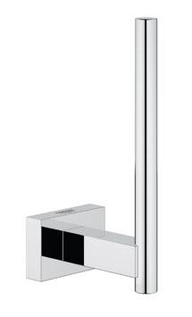 Grohe essentials cube porta rotolo di scorta 40623 000 accessori bagno - Accessori bagno grohe ...