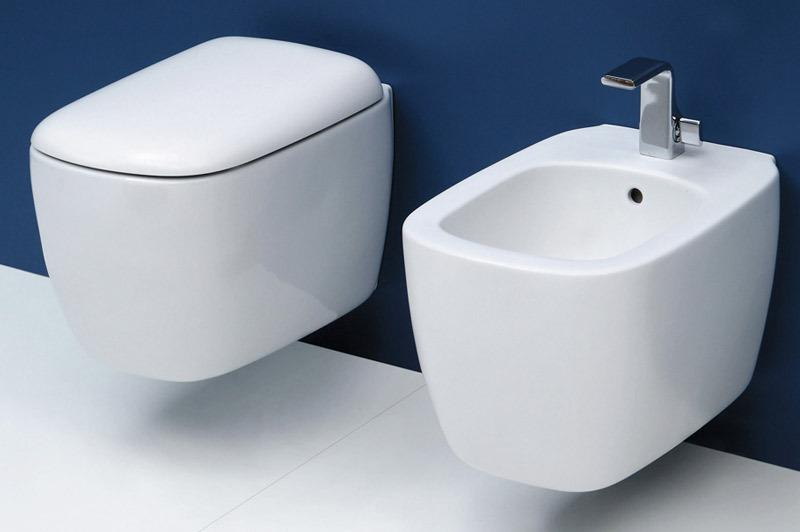 Flaminia set mon mn118 mn218 set sanitari - Set sanitari bagno ...