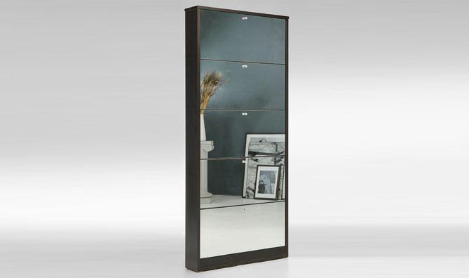 Asso Scarpiera Premium specchio - Scarpiere