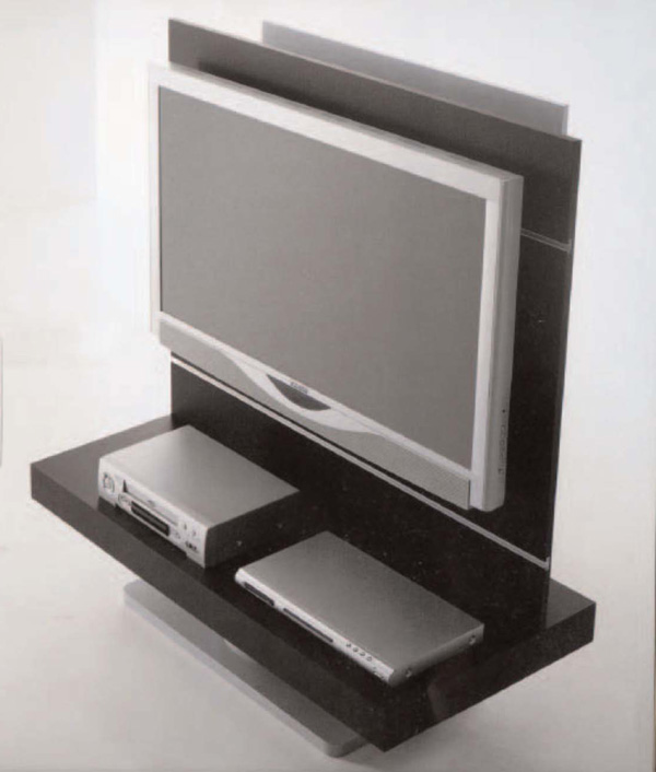 Bertoli porta tv visional porta tv - Porta televisore da parete ...