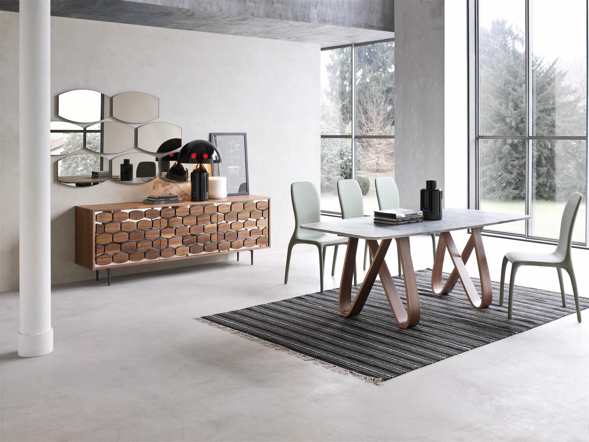 Tonin casa skin 7530 specchiera for Tavoli soggiorno moderni