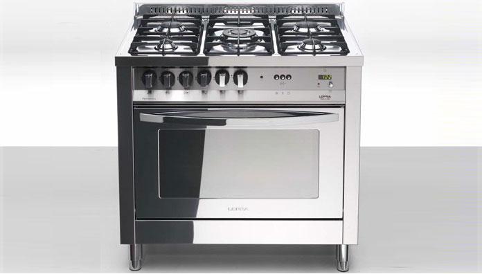 Lofra PLG96GVT/C Total Inox - 41060101 - Cucina